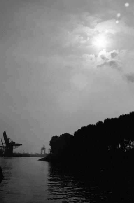 Letzte Insel vor dem Hafen